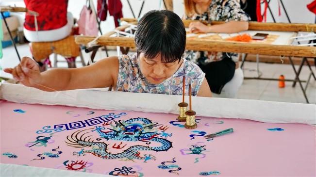 河北肅寧:傳承傳統戲曲服裝服飾制作技藝