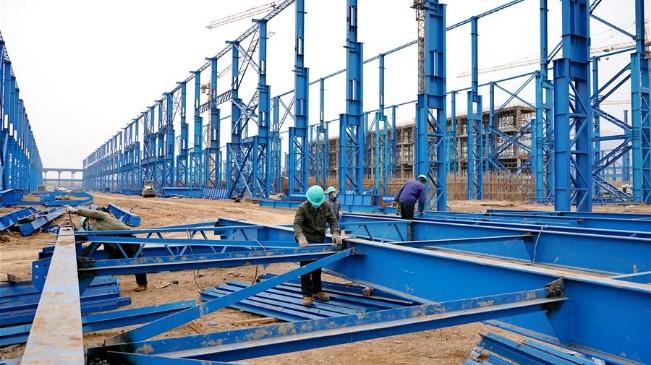 河北:河鋼石鋼環保搬遷升級改造項目建設工地復工