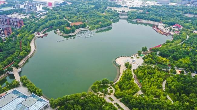 河北安平:遊園建設提升城市品位