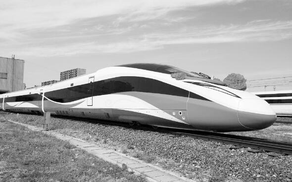 時速400公裏 高速動車組在唐山下線