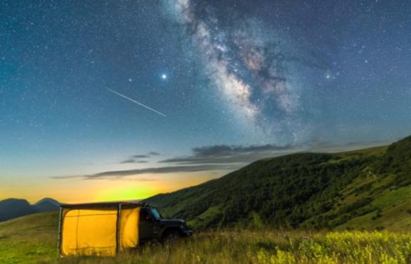 銀河迎絕佳觀測季